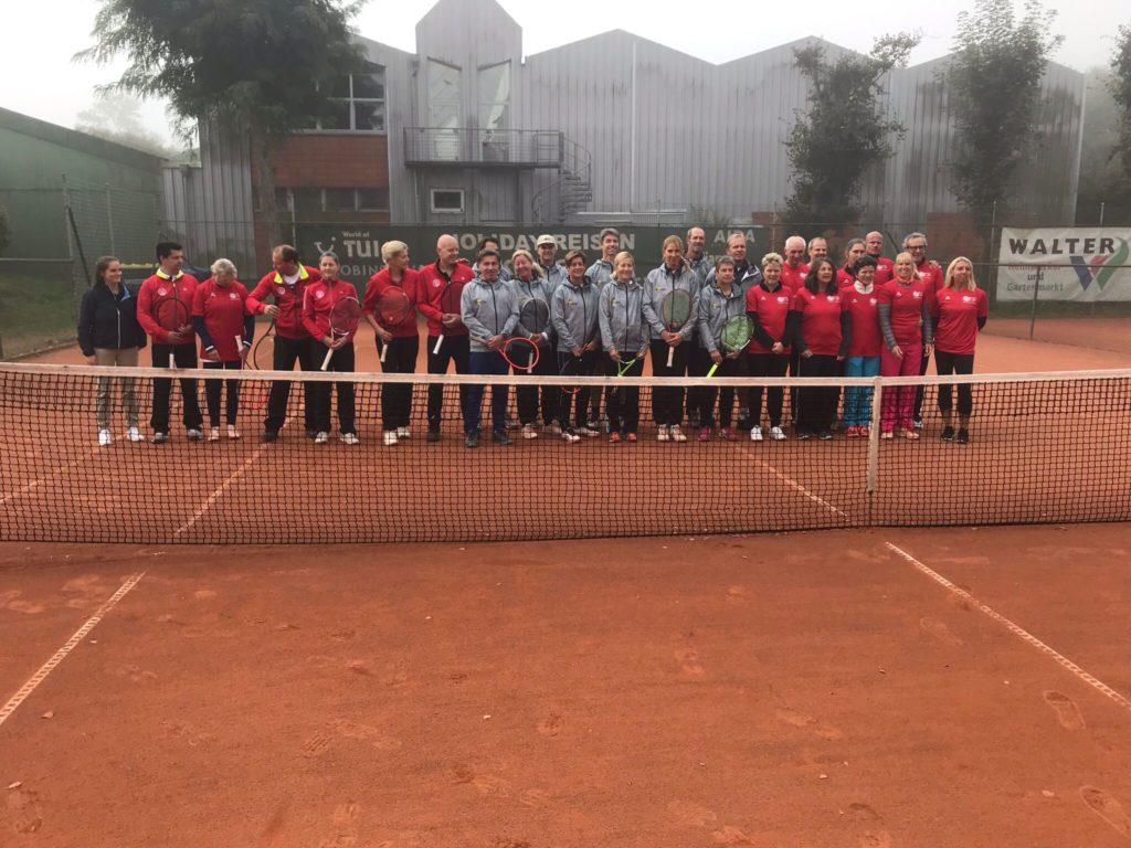 Gruppenbild der Teilnehmer der dt. Mannschaftsmeisterschaften Verband